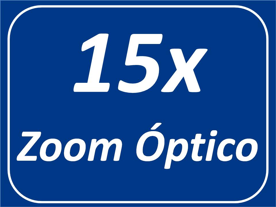 Zoom Óptico 15x