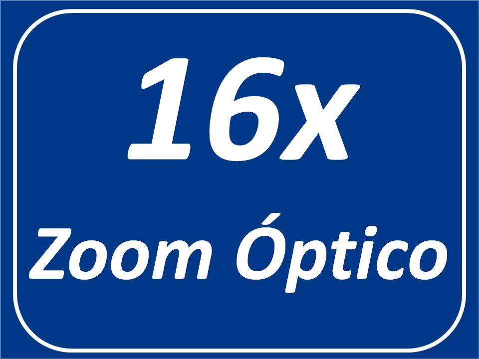 Zoom Óptico de 16x