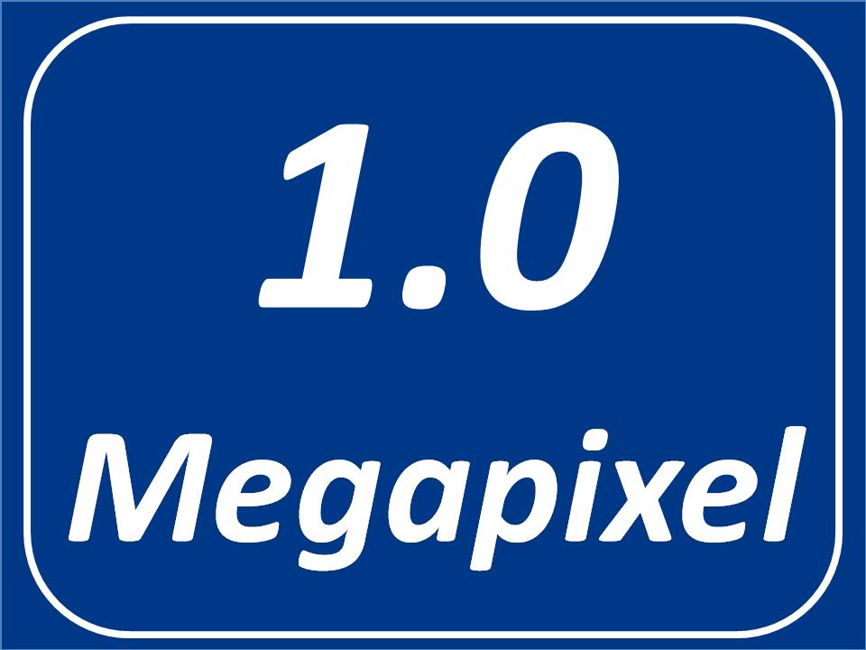 1.0 Megapixel