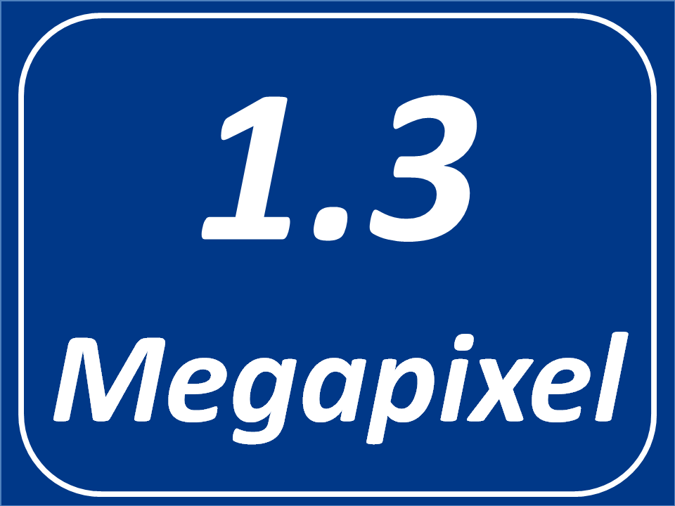 1,3 Megapixel