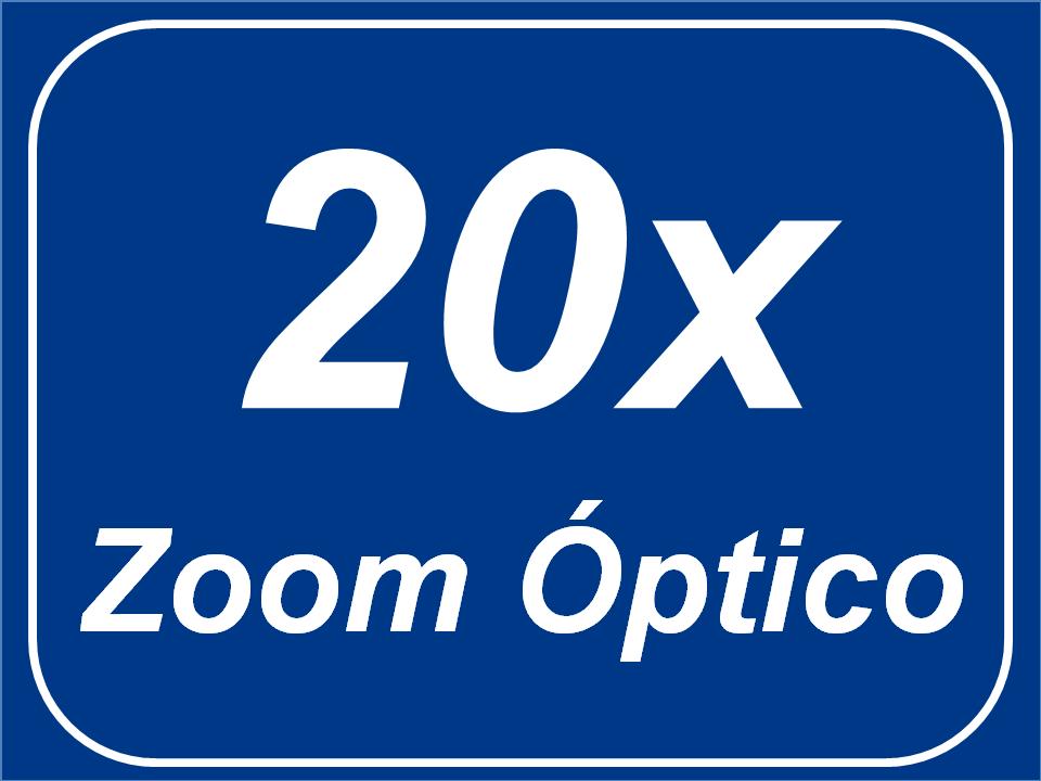Zoom Óptico 20x