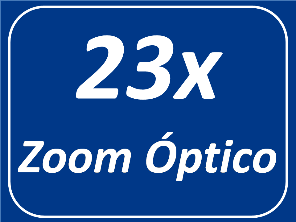 Zoom Óptico 23x