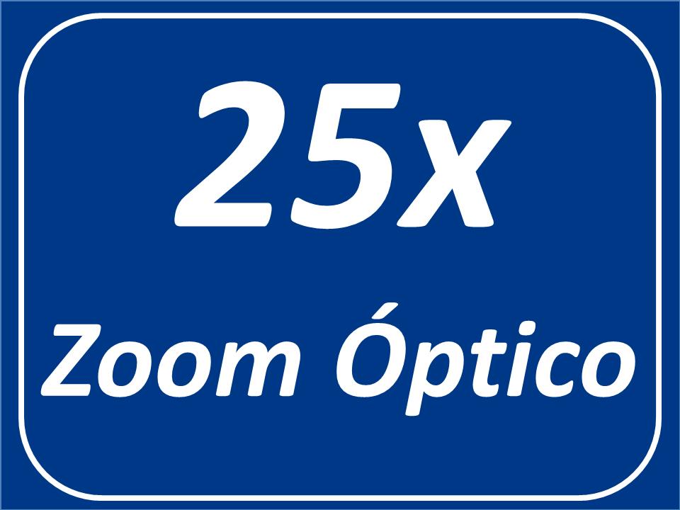 Zoom Óptico 25x