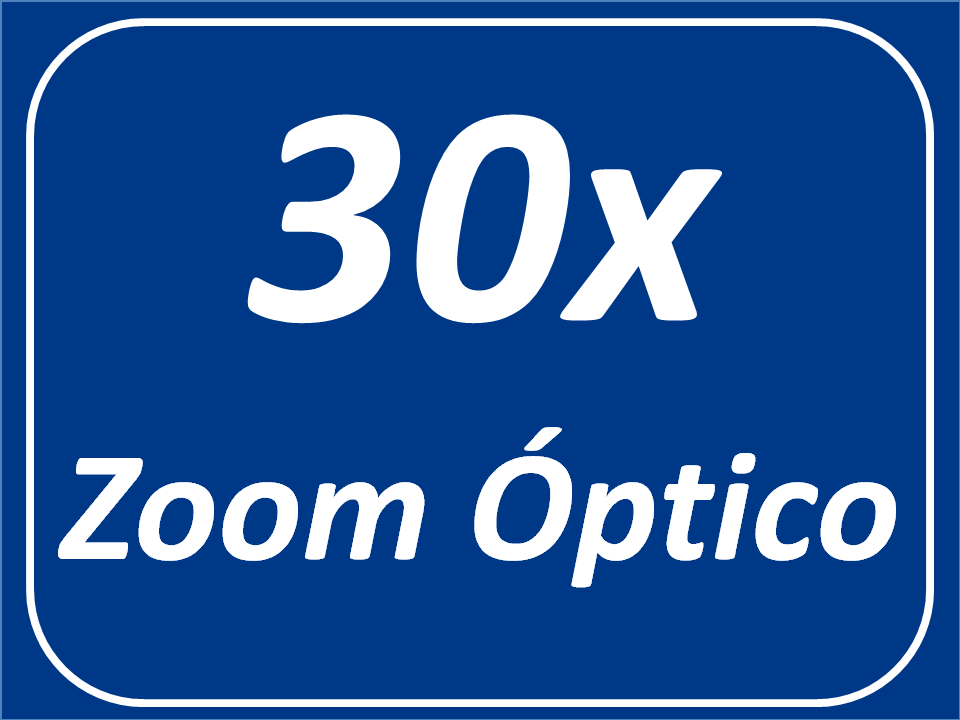 Zoom  óptico 30x