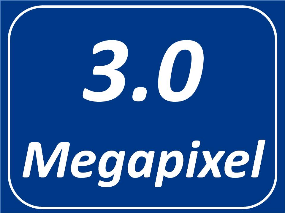 3.0 Megapixel