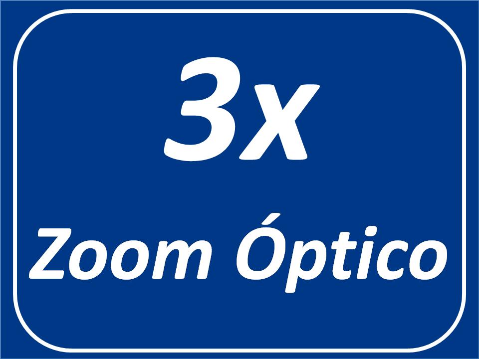 Zoom óptico 3x