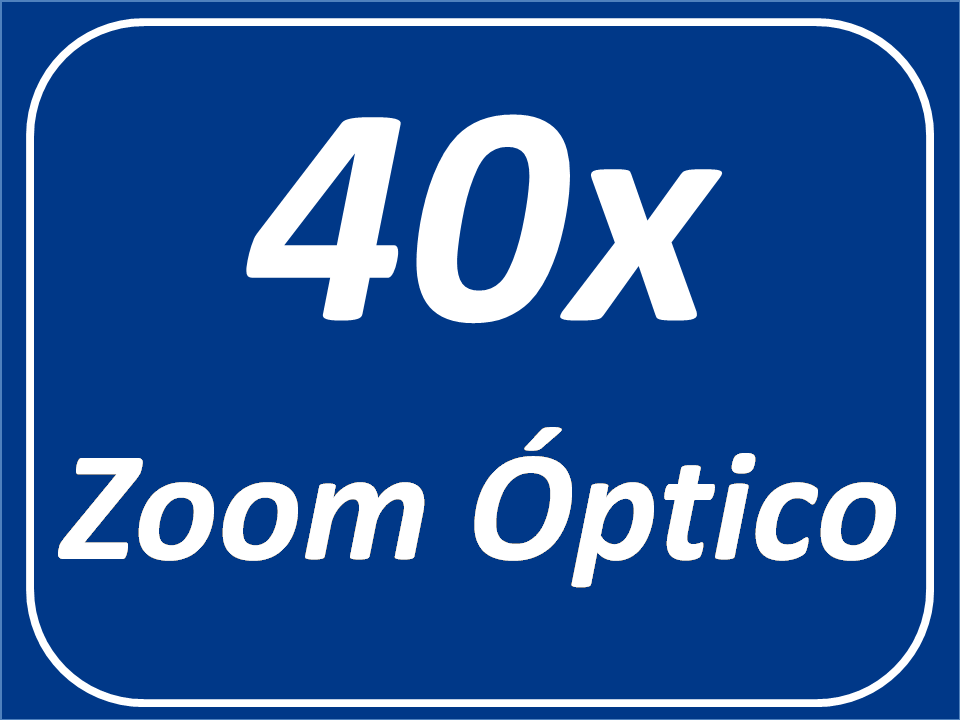 40x Zoom Óptico