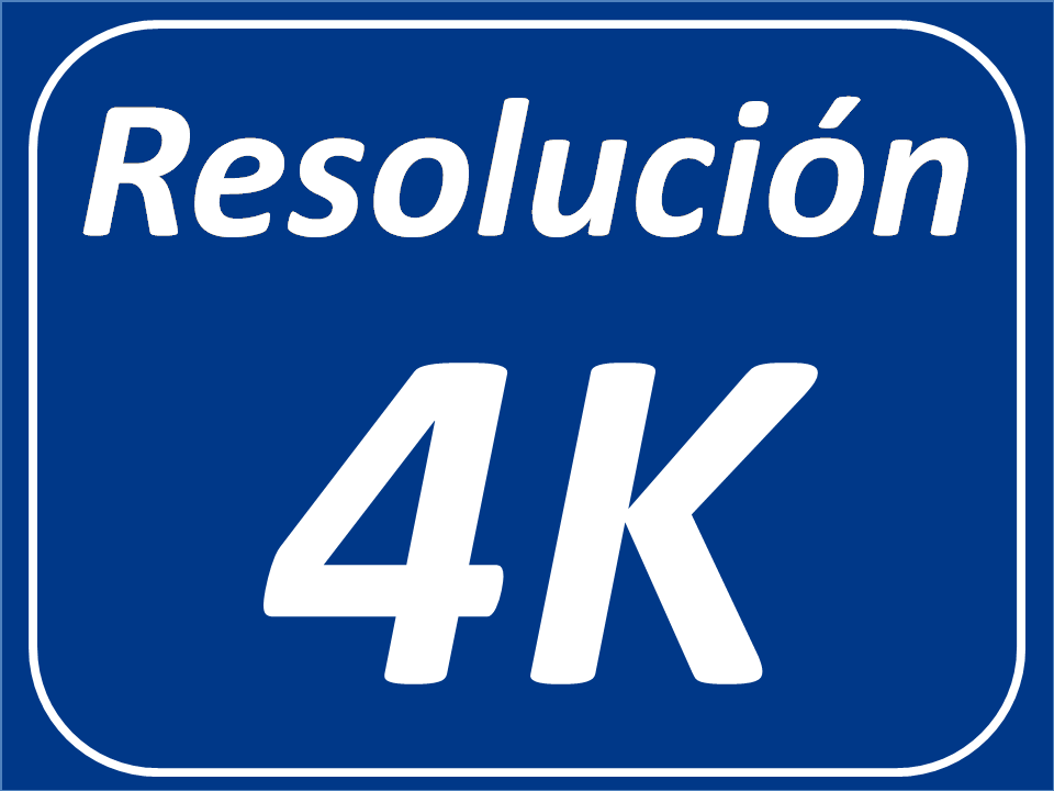 Resolución 4K