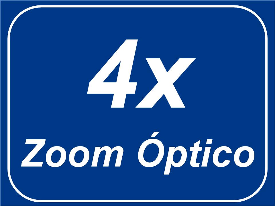 Zoom Óptico 4x