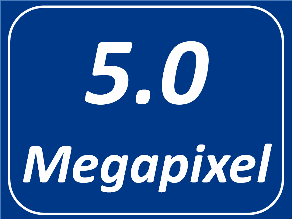 5 Megapixel