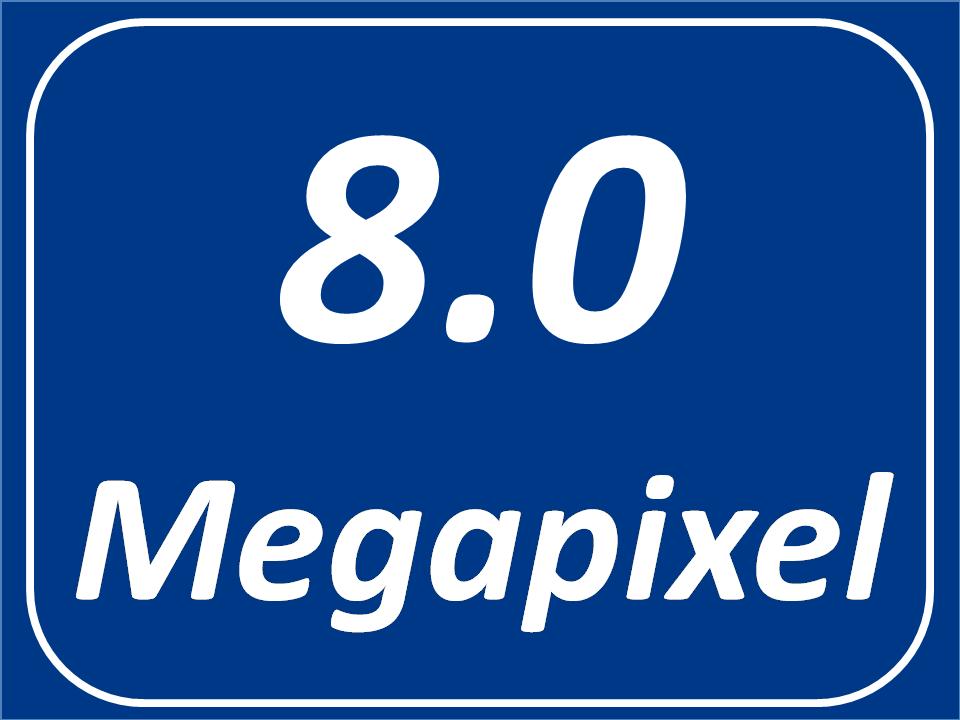8 Megapixel