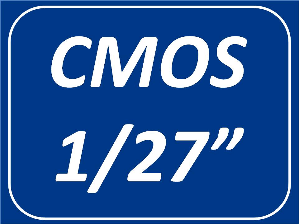 Sensor CMOS 1/27 Pulgadas