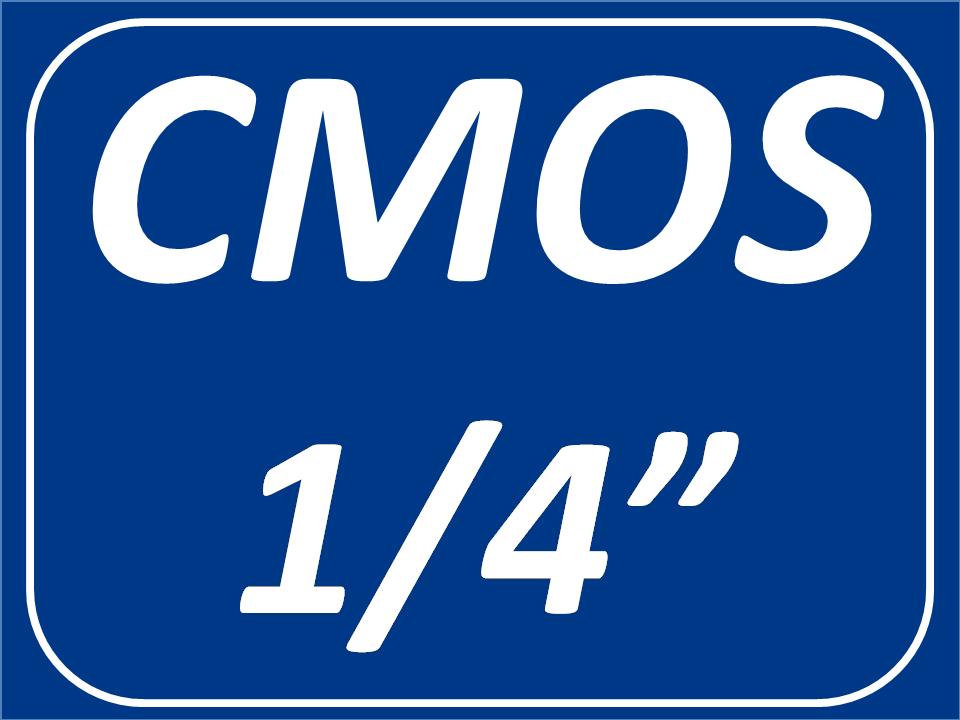 Sensor CMOS 1/4
