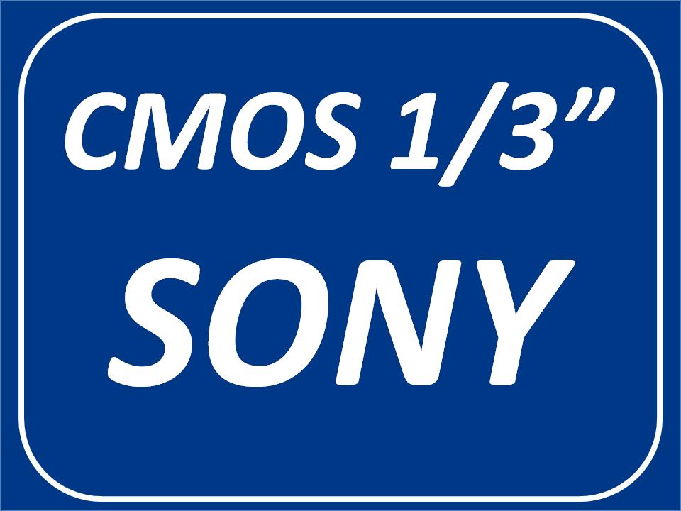 Sensor Sony 1/3 de pulgadas