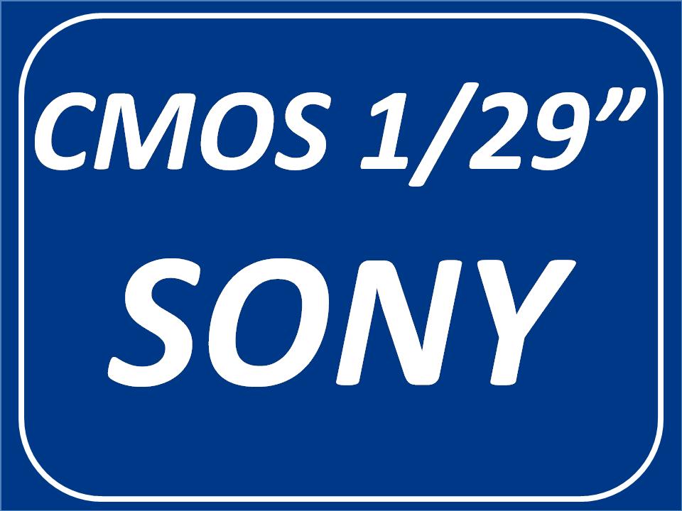 CMOS SONY 1/29 Pulgadas