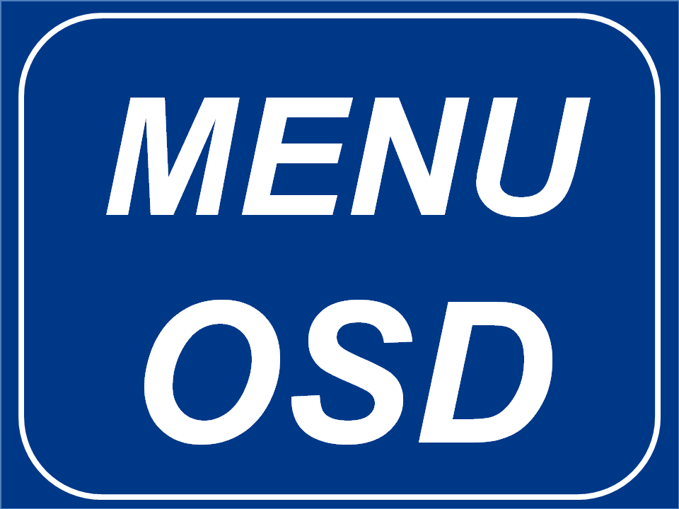 Menú OSD