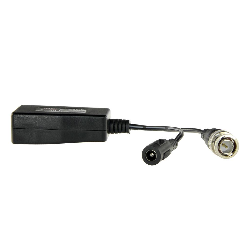 Balun pasivo de vídeo y alimentación HD por par trenzado, 2 Uds