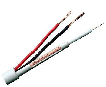 Bobina de Cable Combinado - (Micro-coaxial+Alimentación) - 100m