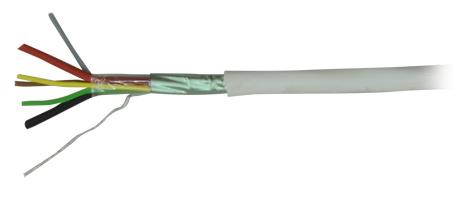 Cable de alarmas con alimentación