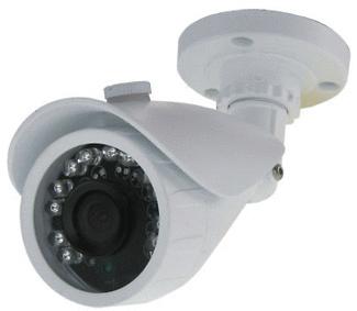 Cámara de vigilancia con leds