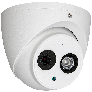 cámara minidomo 4 en 1 con óptica fija