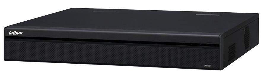 Grabador IP DAHUA 24 Canales - 24 Puertos PoE - Resolución máxima 12 Megapixel - Ancho de banda 320 Mbps