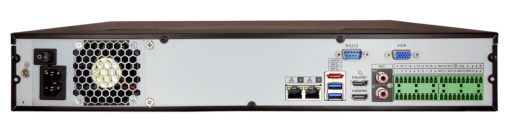 NVR5464-4KS2 / Grabador IP DAHUA de 64 Canales - 320Mbps