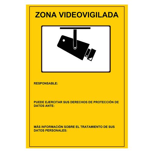 Placa De Se 241 Alizaci 243 N De Zona Videovigilancia Homologada Ipcenter Electronics