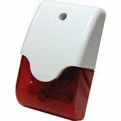 Sirena interior / altavoz piezoeléctrico / lanzadestellos Rojo