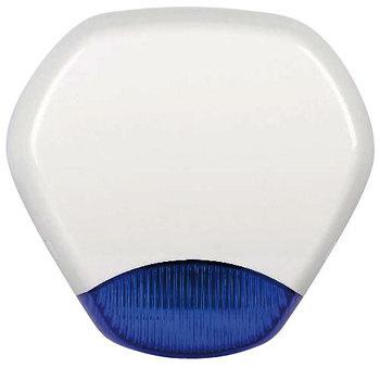 Sirena exterior / altavoz piezoeléctrico / lanzadestellos Azul