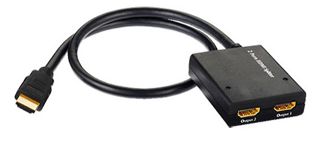 Splitter de Video HDMI - 1(IN) x 2(OUT)