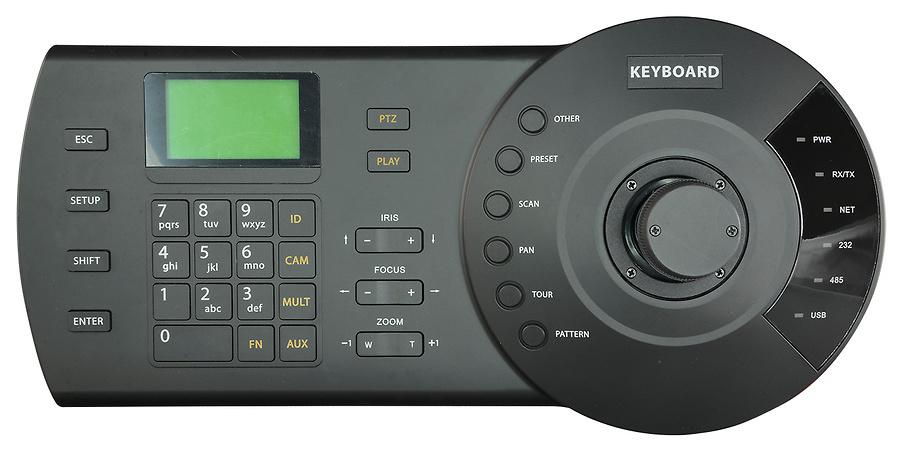 Teclado de control para cámaras motorizadas