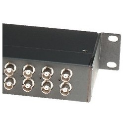Transceptor Pasivo 16 puertos video - 1 datos - Rack19