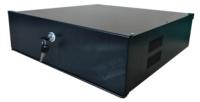 Arcón para Grabadores Digitales  de hasta 4U - Cerradura Mecánica de leva
