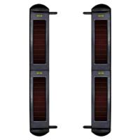 Barrera solar por infrarrojos  -  Cuatro Haces  -  Inalámbrica  -  Alcance 100 metros