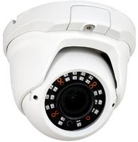 Cámara Domo 4 en 1 (HDCVI, HDTVI, AHD, CVBS) - Resolución 720P  -  Óptica Varifocal - Leds infrarrojos