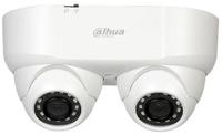 Cámara de vigilancia Starlight Dahua de doble lente  -  Resolución 2 Megapixel  -  Ópticas fija gran angular  -  Leds infrarrojos 30 metros