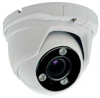 Cámara domo 4 en 1  (HDCVI / HDTVI / AHD / CVBS)  -  Óptica varifocal  -  Visión nocturna 40 metros