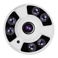 Cámara domo 4 en 1  -  Resolución 1080P  -  Óptica fija  Fisheye  -  Leds infrarrojos 30 metros