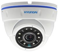 Cámara domo  HYUNDAI  4 en 1 (HDCVI / HDTVI / AHD / CVBS)  -  5 Megapixel  -  Óptica fija  -  Leds infrarrojos 20 metros