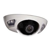 "Cámara domo con infrarrojos - 1/3"" Sharp CCD color - 650 líneas - Lente 2.8 mm"