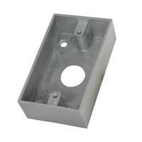Caja de superficie para Pulsador  liberación de Puertas