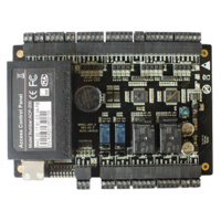 Controladora de Accesos RFID  -  Entrada de 2 pulsadores - 2 sensores de puerta - 2 entradas auxiliares