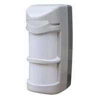 Detector PIR de cortina  -  Inalámbrico  -  Doble Pir / 1 microondas  -  Doble Tecnología  -  Función anti-enmascaramiento  -  Apto para Exterior  -  Grado 3