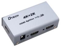 Duplicador de señal HDMI  -  1 Entrada / 2 Salidas  -  5V DC
