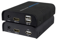 Extensor de video HDMI y USB por UTP