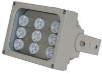 Foco de Iluminación para cámaras de vigilancia mediante luz blanca