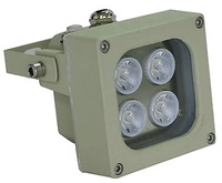 Foco de iluminación infrarroja