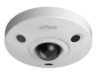 IPC-EBW81230   |  DAHUA  -   Cámara IP  fisheye  -  12 Megapixel   -  Audio bidireccional  -  Micrófono y altavoz integrado