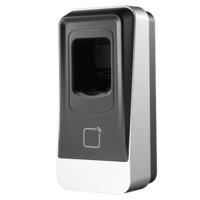Lector biométrico Safire  -  (Acceso por huella y/o tarjeta EM)  -  Apto para instalación interior / exterior - IP65